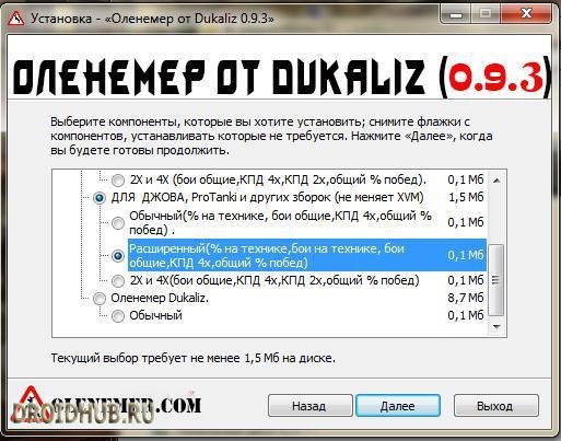 Оленемер от Дукалиса