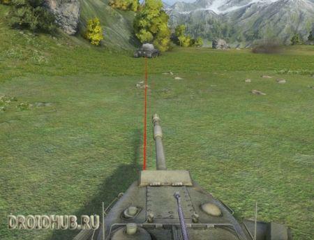 Лазерный прицел для World of Tanks WOT 0.9.15