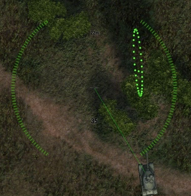 Арт прицел для танков и снайперский для арты WOT 1.6.0.7