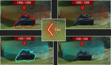 Мод Индикатор - Расширенная индикация автоприцела для World of Tanks 1.7.0.2