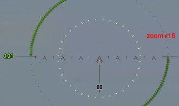Индикатор кратности зума в снайперском прицеле для WOT 1.6.1.0