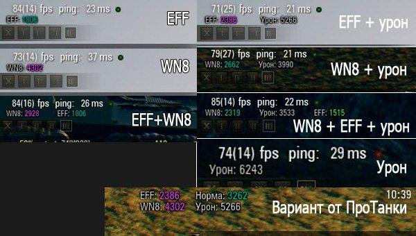 Калькулятор эффективности в бою для WOT 0.9.20.1