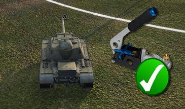 Отключение ручника для ПТ-САУ в снайперском режиме для World of tanks 1.6.1.4