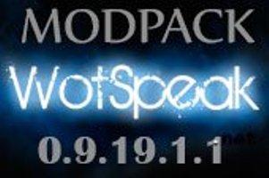 mod pack wot speak