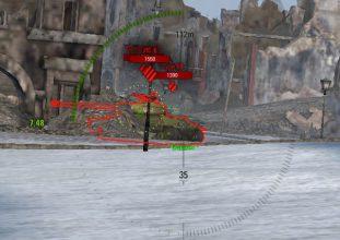Автоприцел ProAIM с выбором места выстрела (центр, низ, башня) и отличным упреждением 1.5.1.2
