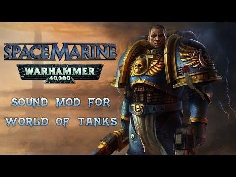 Озвучка экипажа репликами космодесанта из Warhammer 40 000 [1.7.0.2]