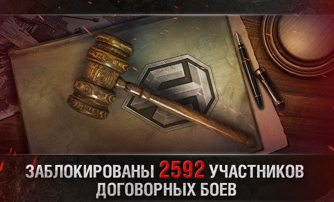 Договорные бои  в World of Tanks