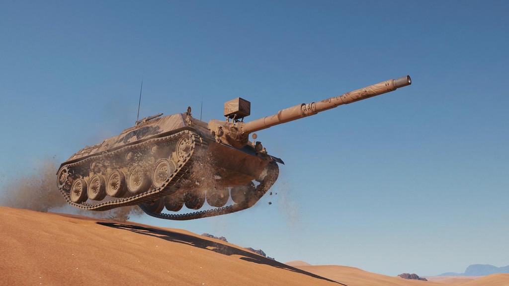 Новая премиум ПТ-САУ Kanonenjagdpanzer 105