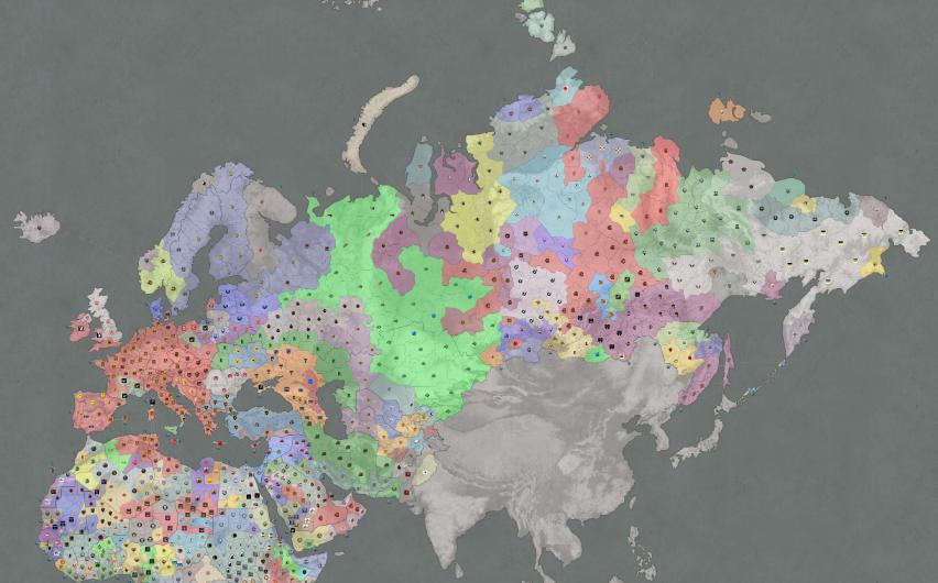 Глобальная карта в World of Tanks