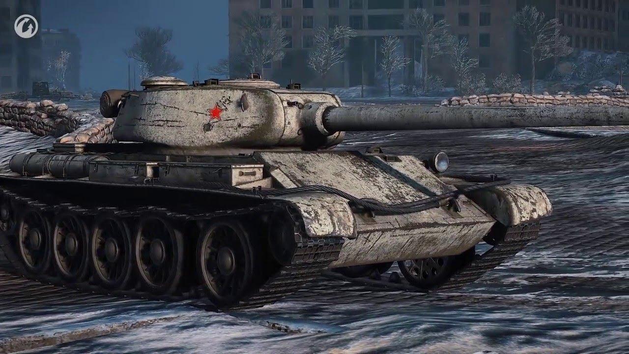 Т-54 первый образец - советский премиум СТ 8 уровня WOT