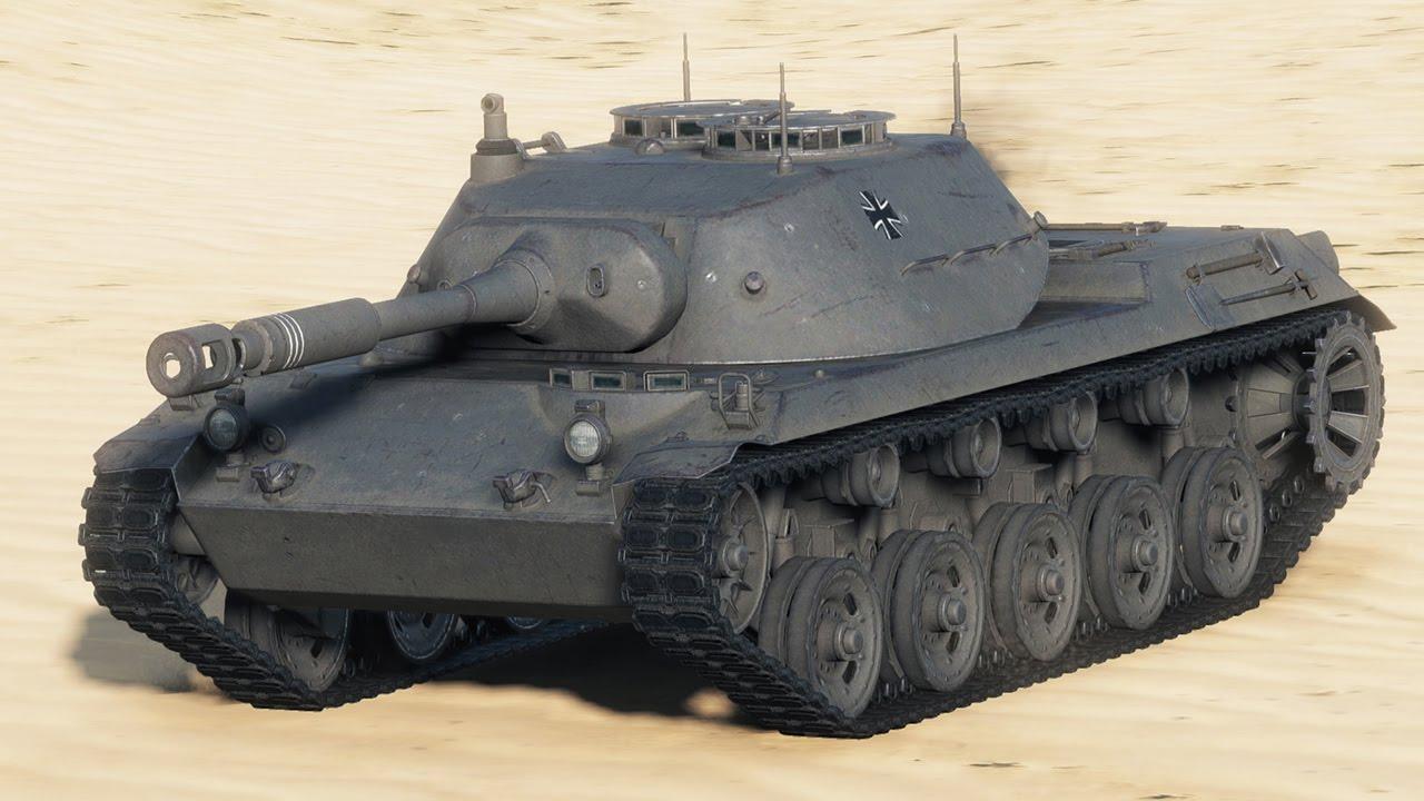 SPÄHPANZER RU 251 - немецкий легкий танк 9 уровня WOT