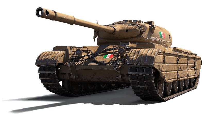 PROGETTO M35 MOD. 46 - итальянский премиум СТ 8 уровня WOT