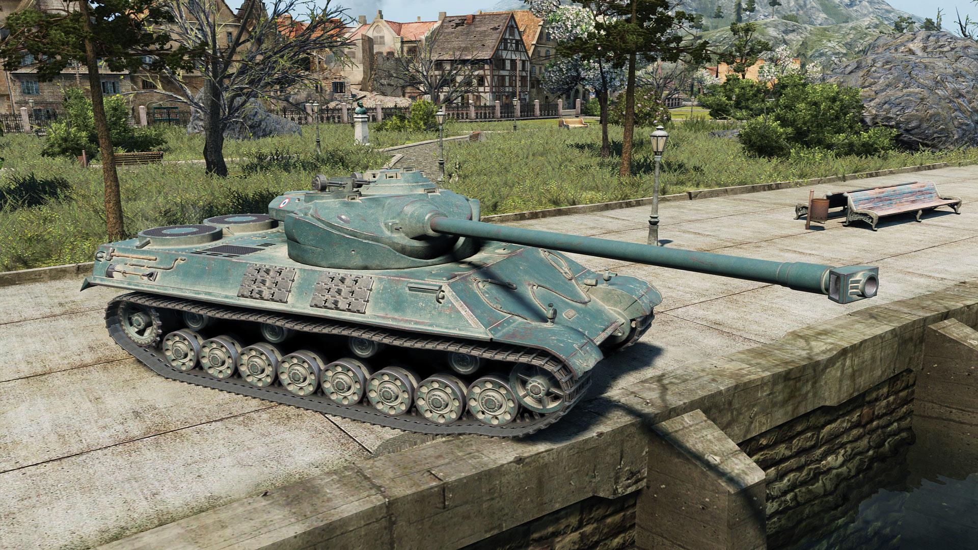 Somua SM - тяжелый премиум танк 8 уровня Франции WOT