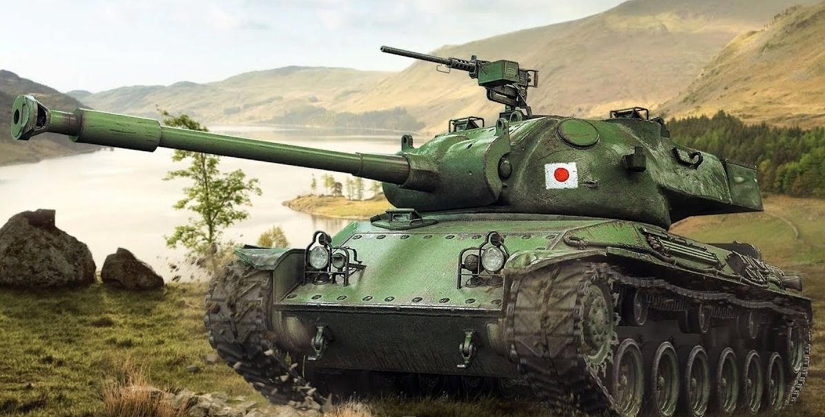 STA-2 японский прем танк 8-го уровня WOT