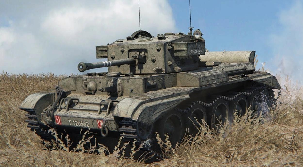 Cromwell B - британский средний премиум танк 6 уровня WOT