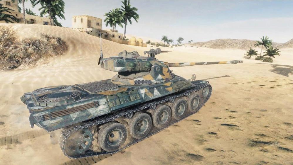 Lorraine 40t — средний премиум танк 8 уровня WOT