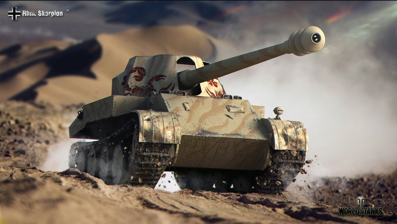 Rheinmetall Skorpion G - Немецкая ПТ-САУ WOT