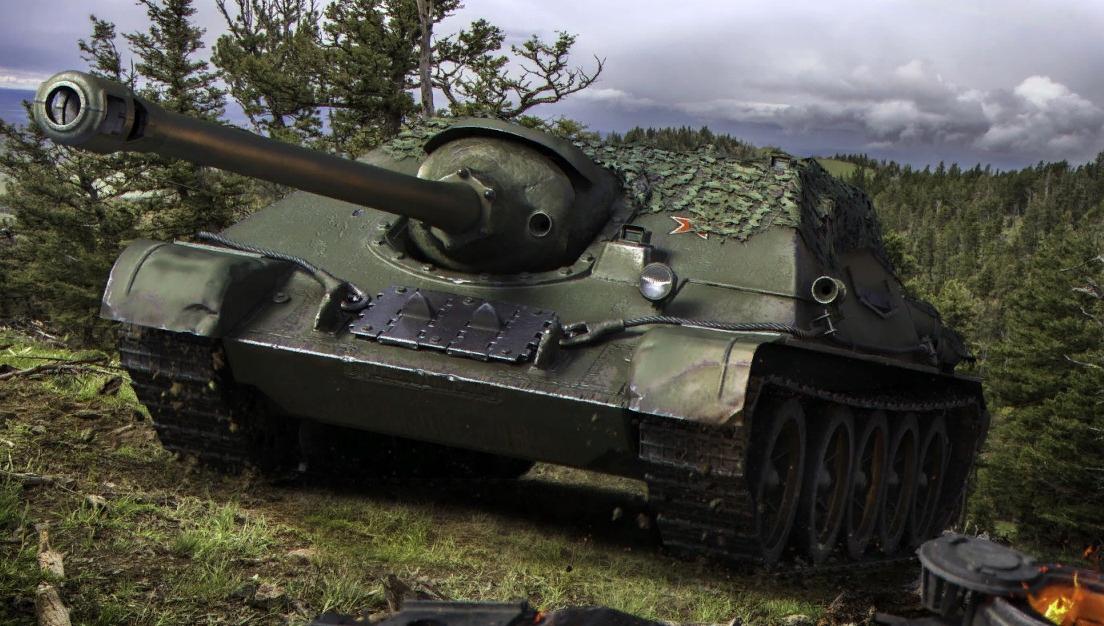 СУ-122-44 - одна из лучших премиум ПТ-САУ в WOT
