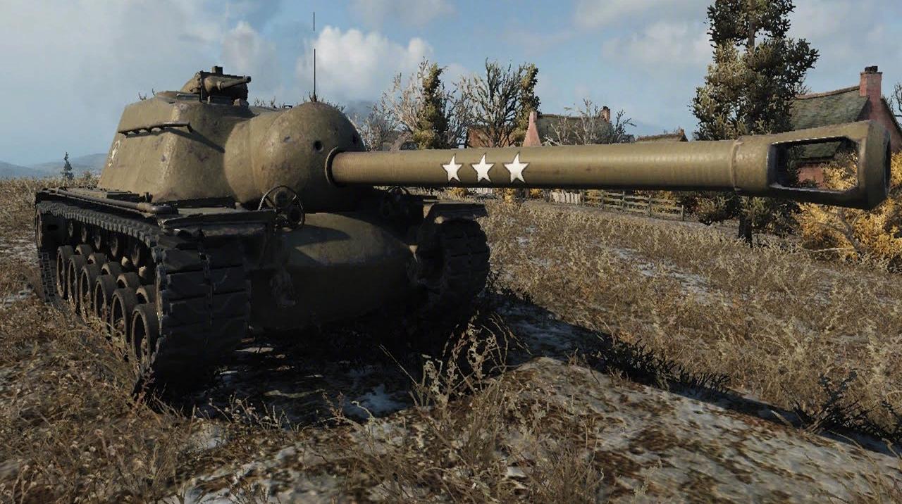 T110E3 - Американская ПТ-САУ 10 уровня World of Tanks