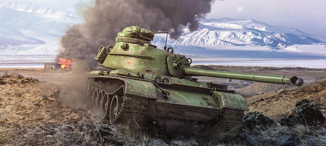 59-Patton китайский премиум танк 8 уровня WOT