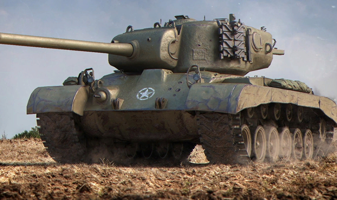 T26E5 -  Американский премиум танк 8 уровня WOT