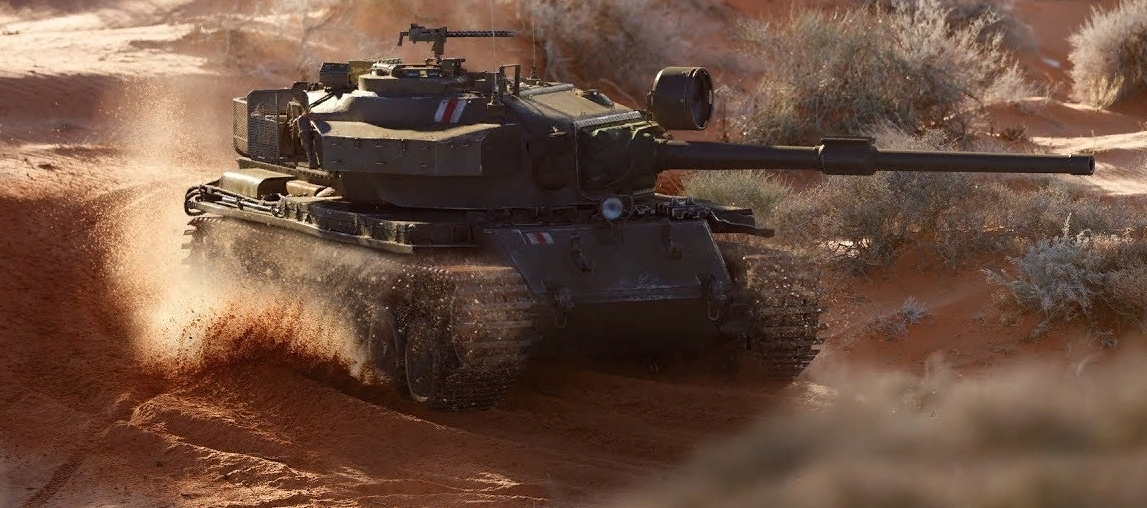 Centurion mk. 5/1 RAAC - cредний премиум танк 8 уровня Британии