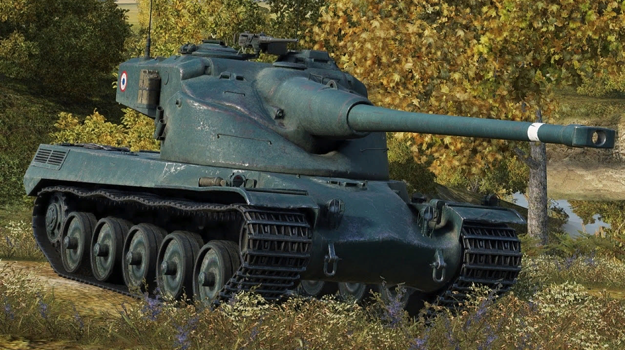 AMX 50 B - французский тяжелый танк 10 уровня WOT