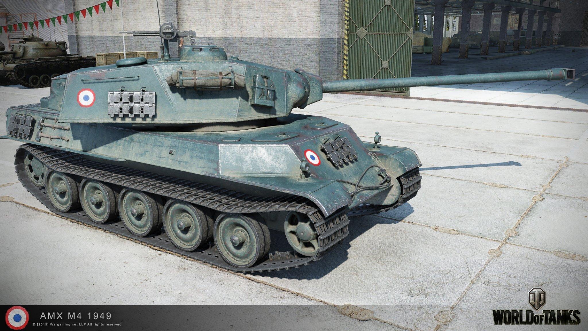 AMX M4 mle. 49 - премиум ТТ Франции WOT