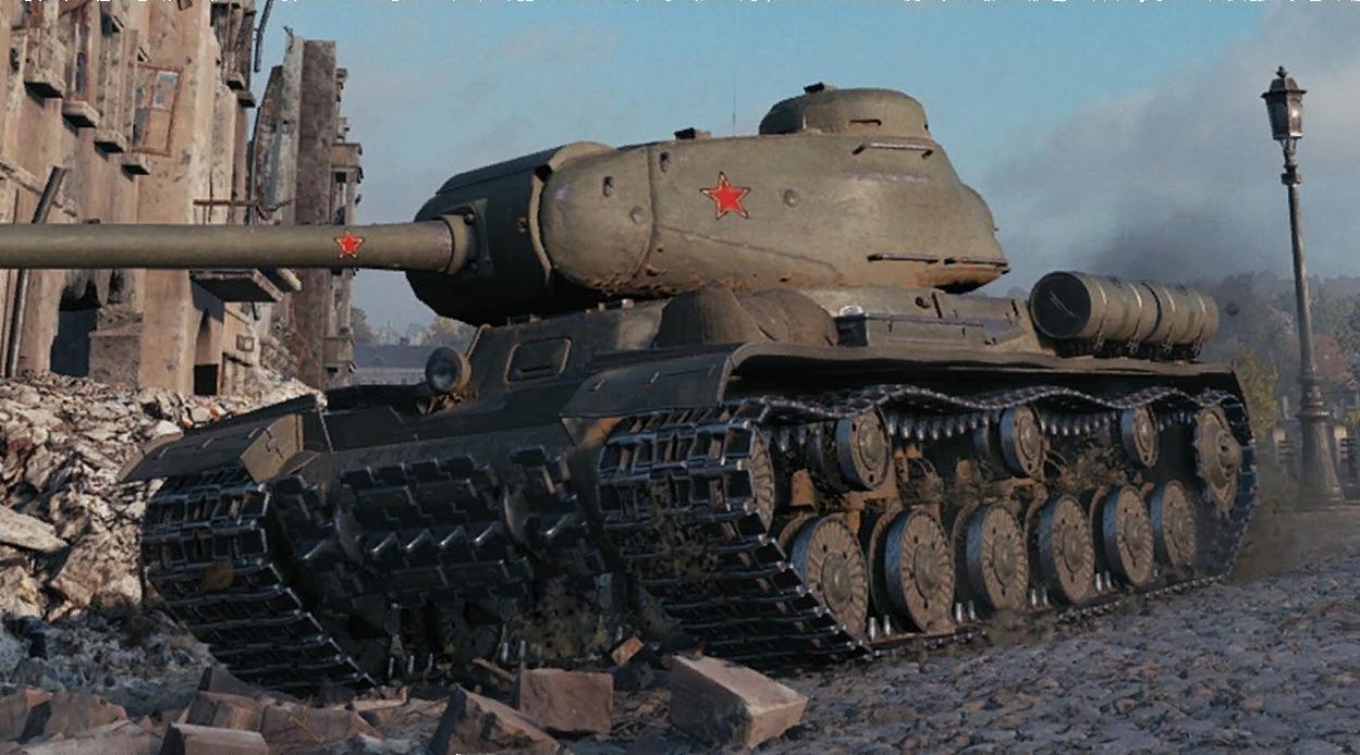 ИС -тяжелый танк 7 уровня СССР WOT