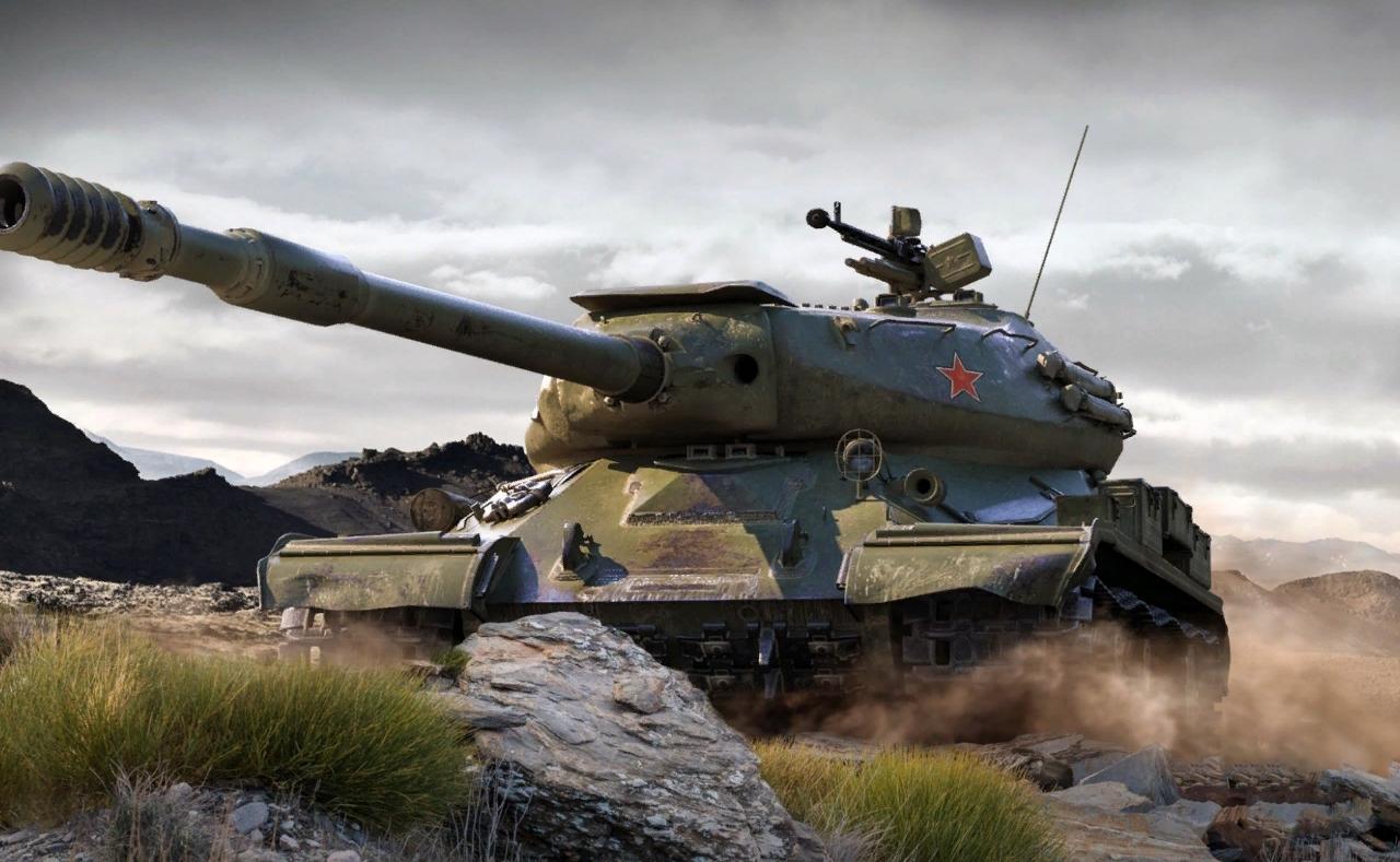 ИС-4 - тяжелый танк 10 уровня СССР WOT
