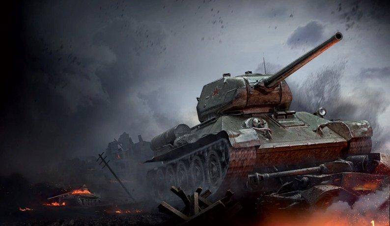 Т-34-85 - средний танк 6 уровня СССР WOT