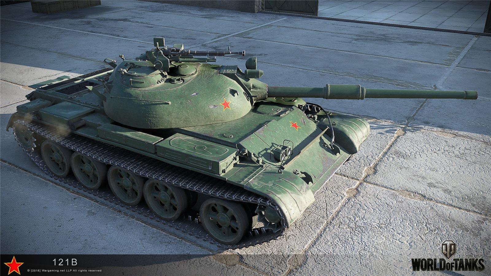 121B - китайский СТ 10 уровня в World of Tanks