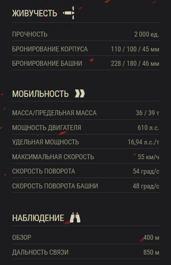 Объект 907 ттх