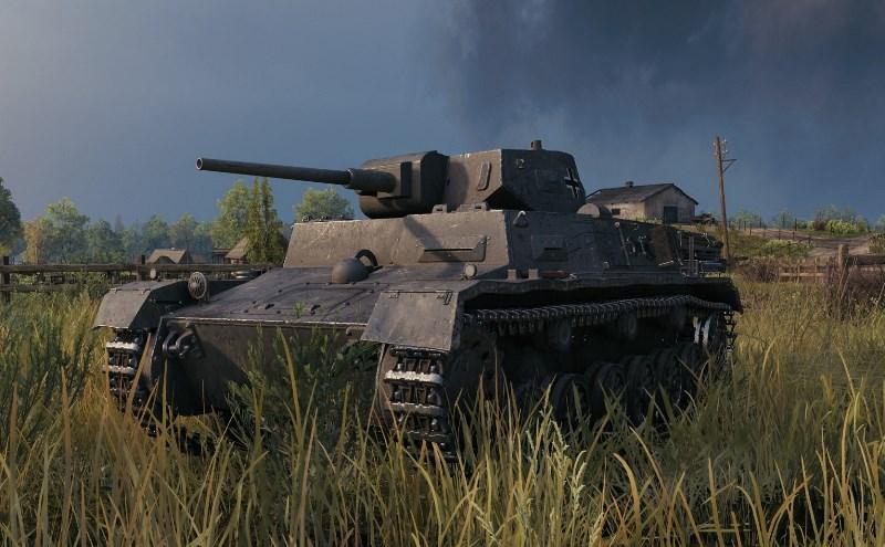 МКА - подарочный танк 2 уровня Германии в WOT