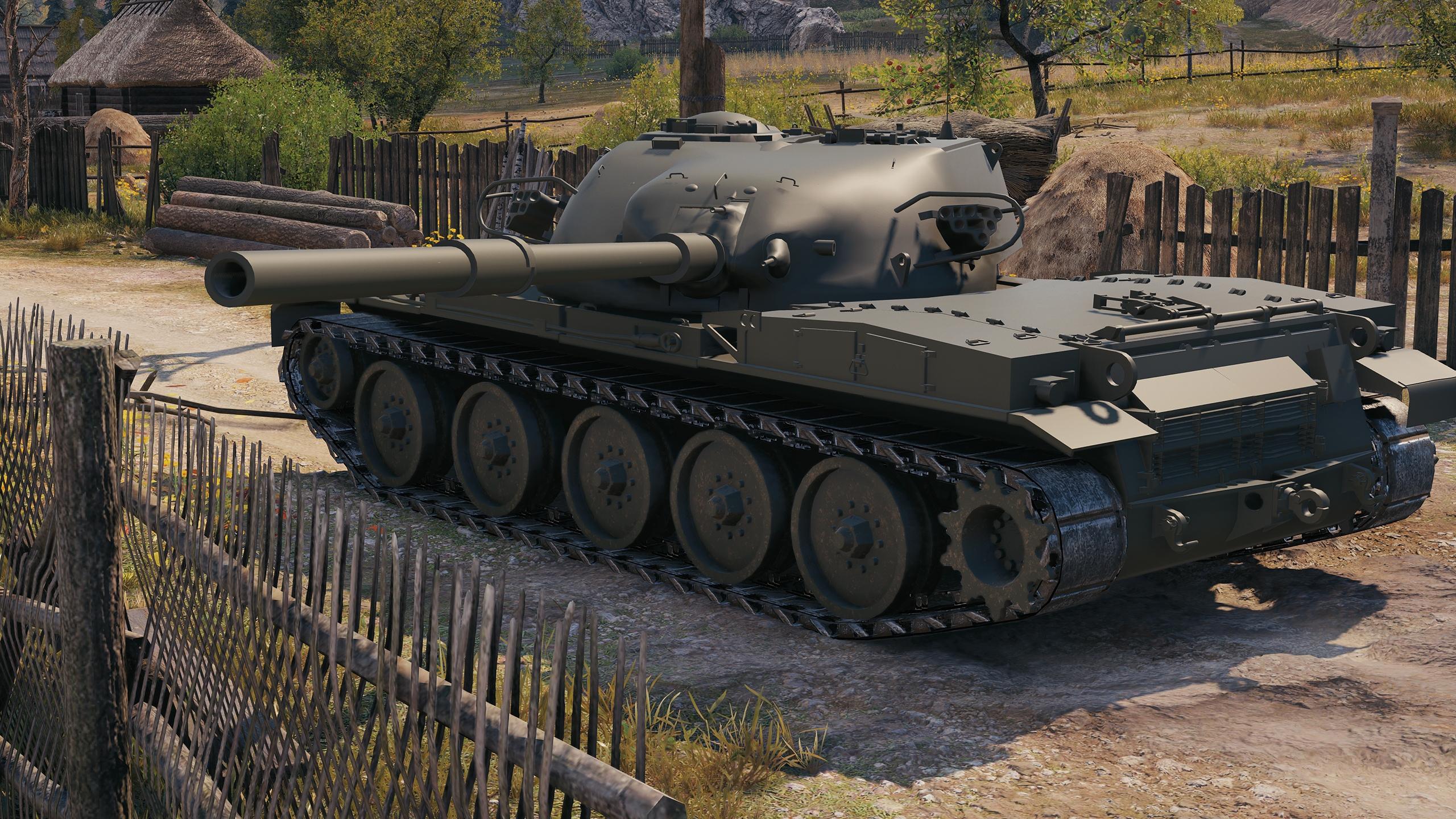 T95/FV4201 Chieftain - британский акционный ТТ 10 уровня World of Tanks