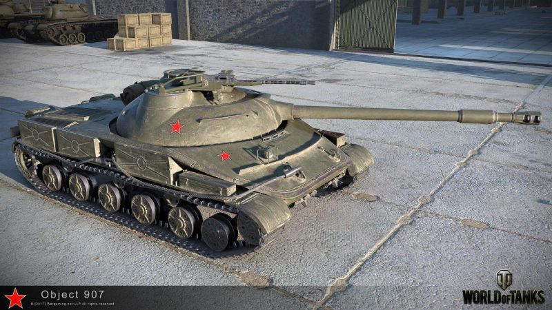 Ворлд оф танк объект 907 характеристики купить бесплтна танка е 25