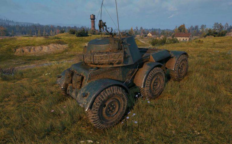 Panhard AML Lynx 6x6 — французский легкий 8 уровня в Wordl of Tanks