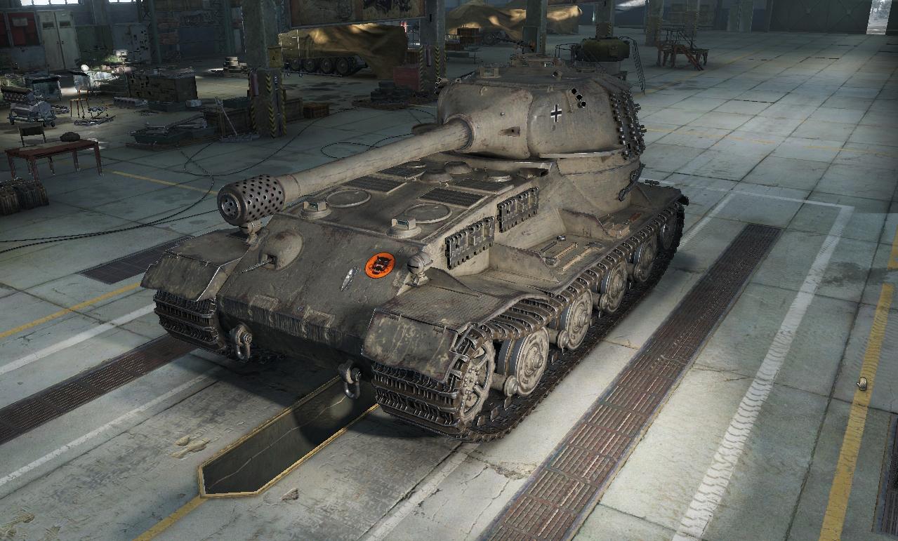 Pz.Kpfw. VII - тяжелый немецкий танк 10 уровня WOT