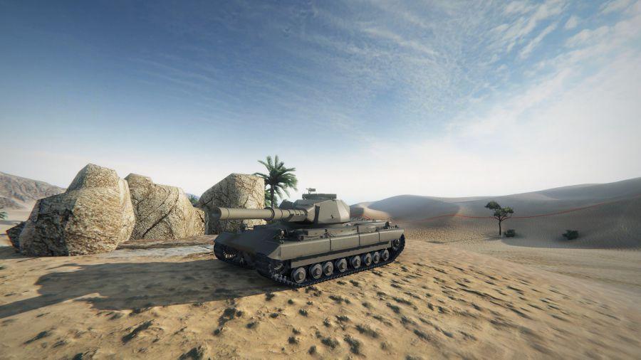 Super Conqueror - британский тяжелый танк 10 уровня WOT