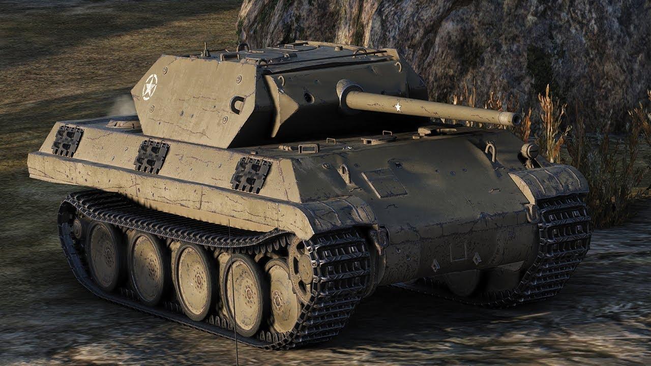 Panther/M10 - немецкий средний танк WOT