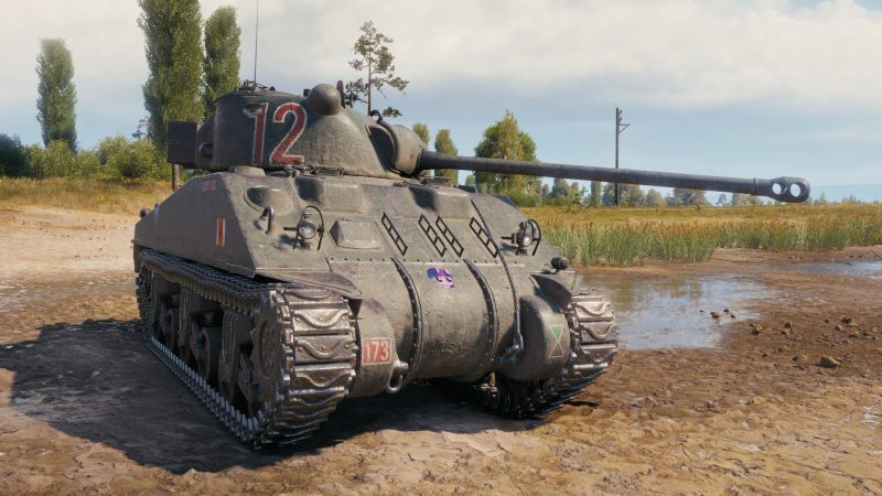 Танк Sherman VC Firefly