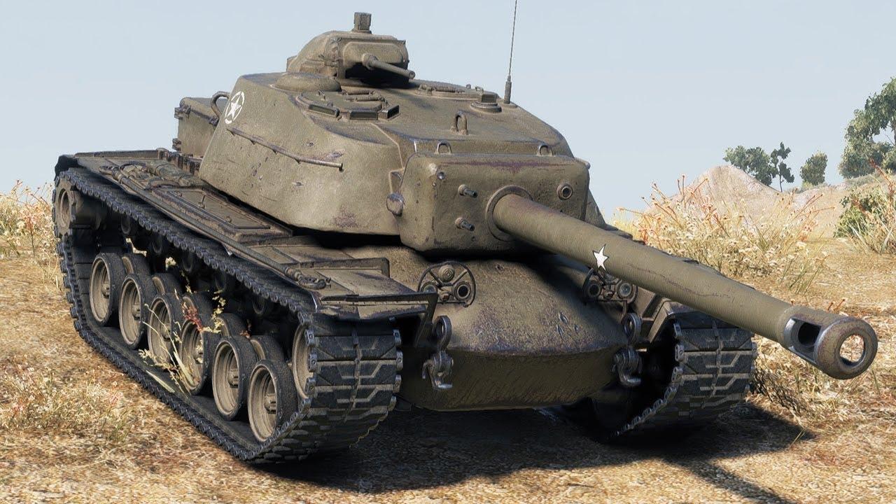 T110E4 -американская ПТ-САУ 10 уровня WOT
