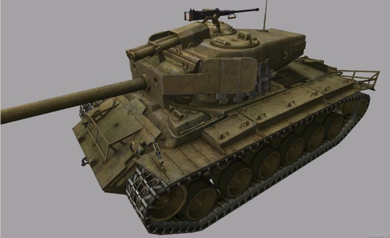 Танк 8 уровня T26E4 SuperPershing