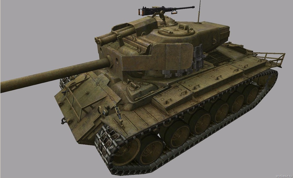 T26E4 SuperPershing - премиум танк 8 уровня World of Tanks