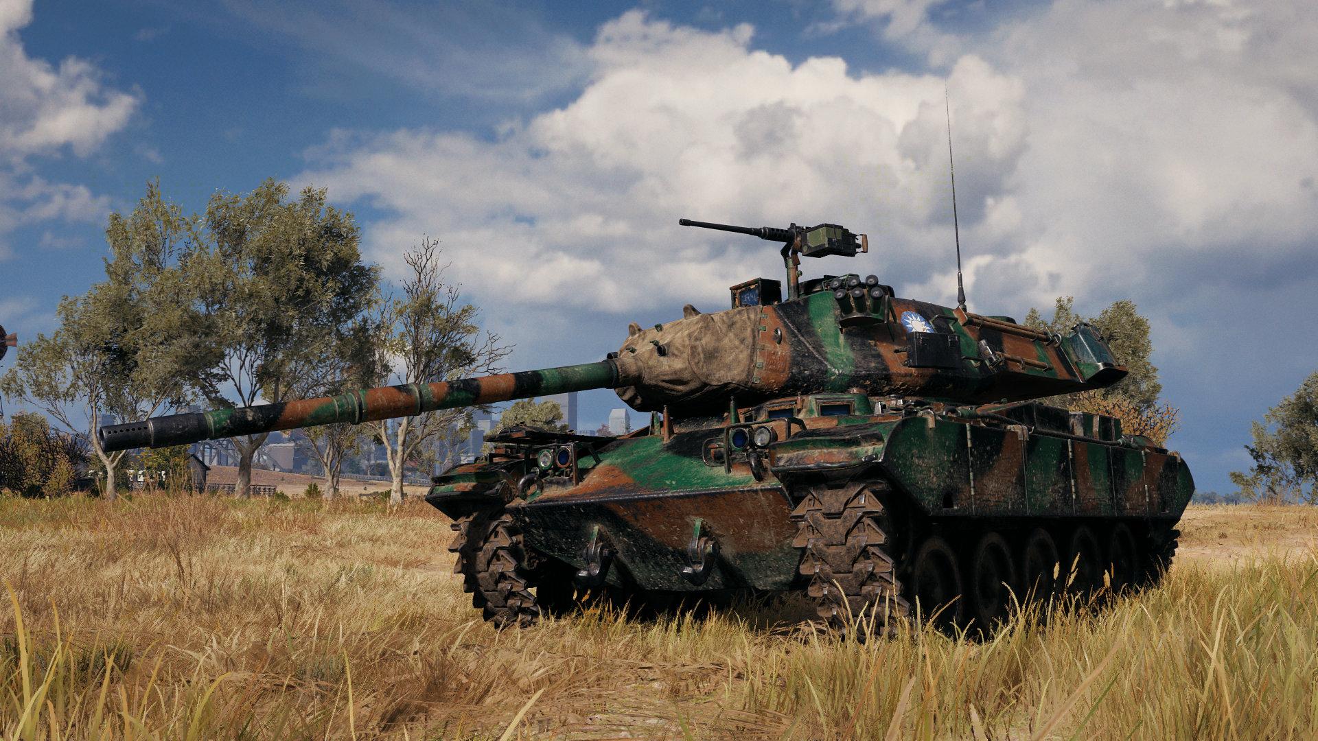 M41D - китайский премиум ЛТ 8 уровня WOT