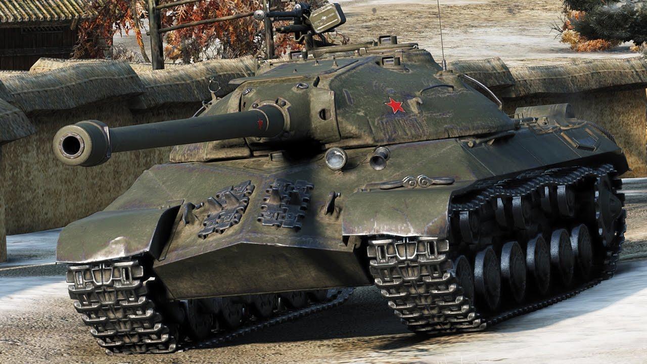 ИС-3 - легендарный советский танк 8 уровня WOT