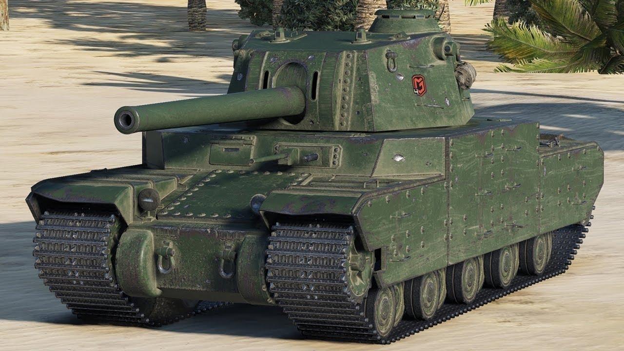 Type 5 Heavy - японский тяжелый танк 10 уровня WOT