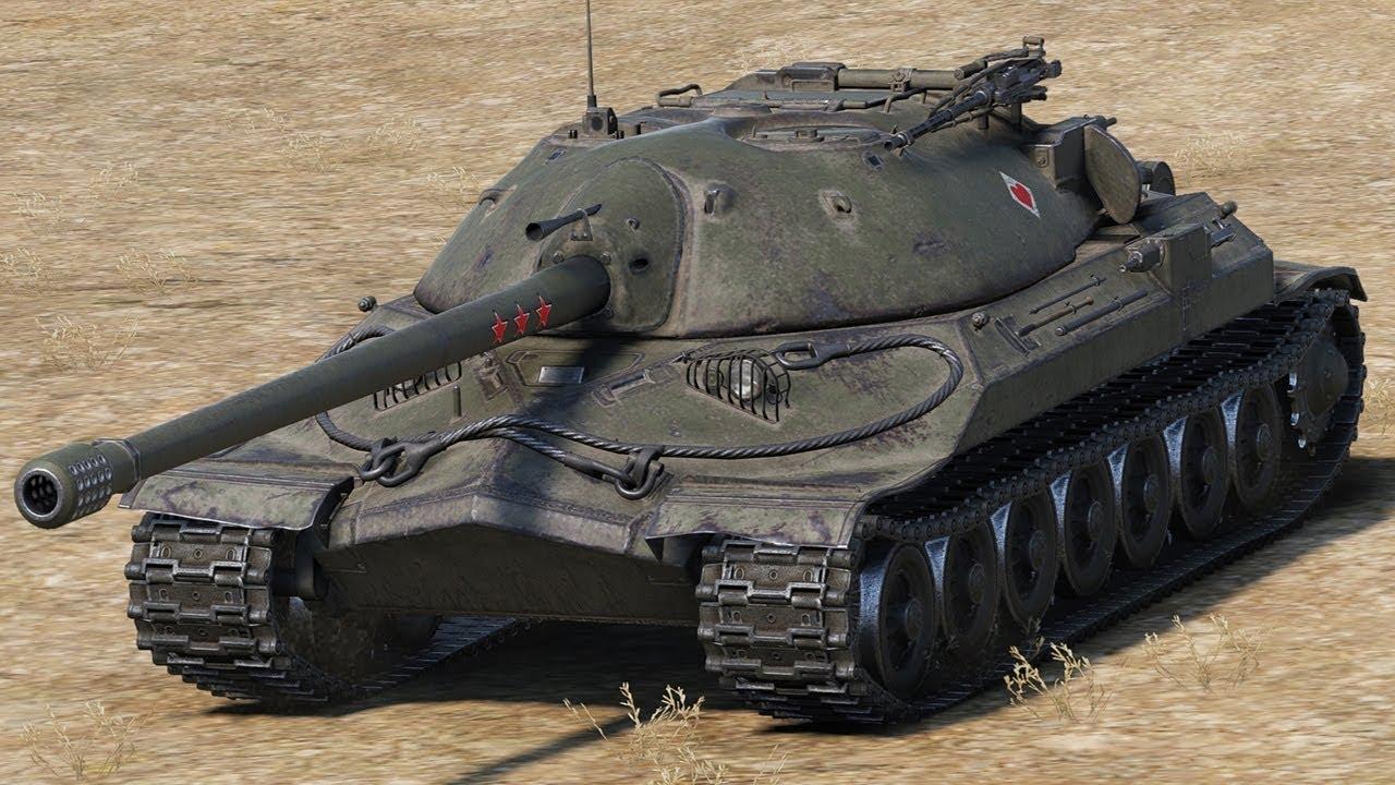 ИС-7 - советский тяжелый танк WOT