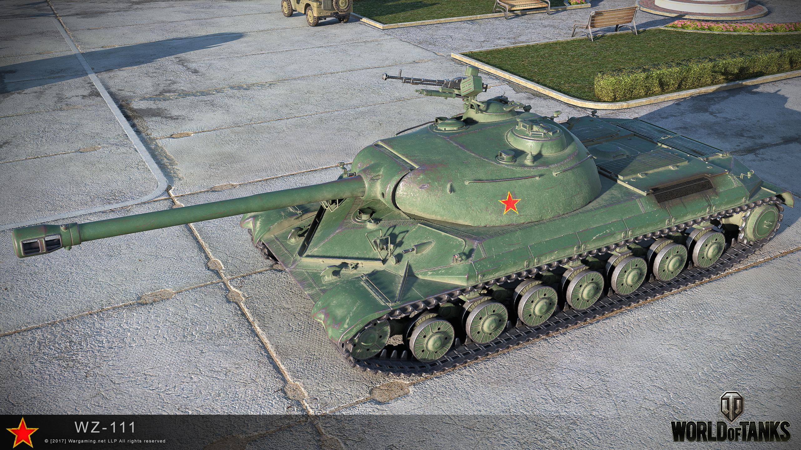 WZ-111 - китайский премиум танк 8 уровня WOT