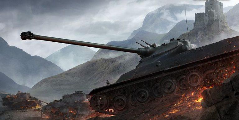 АМХ 50100 - тяжелый французский танк 8 уровня WOT